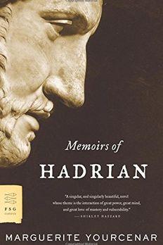 Memoirs of Hadrian book cover