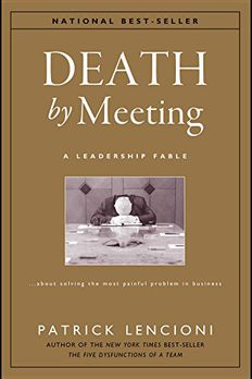 Death by Meeting book cover