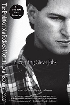 Becoming Steve Jobs book cover