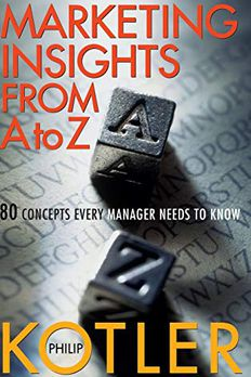 Marketing Insights From A to Z book cover