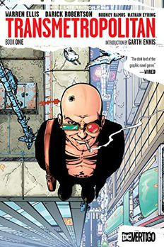 Transmetropolitan Book One book cover
