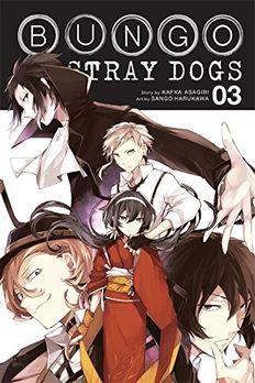 Bungo Stray Dogs, Vol. 3 book cover