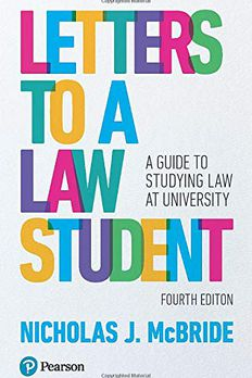 Letters to a Law Student book cover