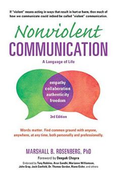 Nonviolent Communication book cover