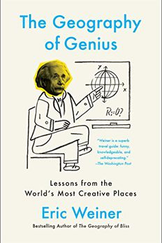 The Geography of Genius book cover