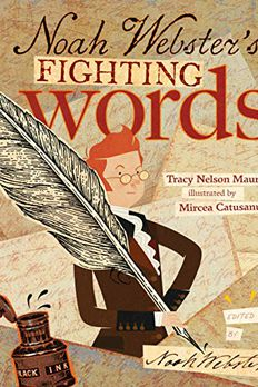 Noah Webster's Fighting Words book cover