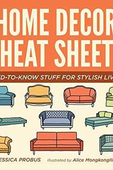 Home Decor Cheat Sheets book cover
