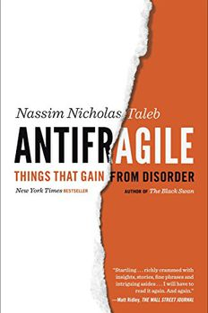 Antifragile book cover