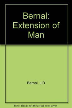 The Extension of Man book cover