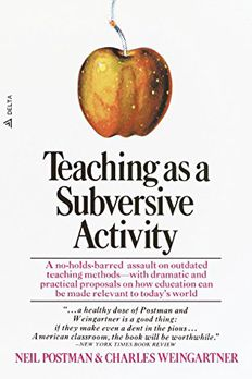 Teaching As a Subversive Activity book cover