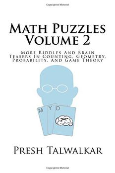 Math Puzzles Volume 2 book cover