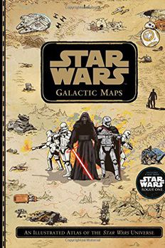 Star Wars Galactic Maps book cover
