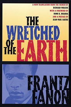 The Wretched of the Earth book cover