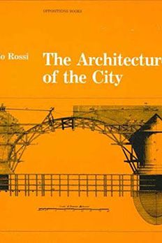 The Architecture of the City book cover