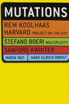 Mutations by Rem Koolhaas book cover