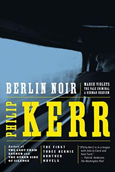 Berlin Noir book cover
