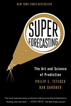 Superforecasting book cover