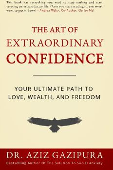 The Art Of Extraordinary Confidence book cover