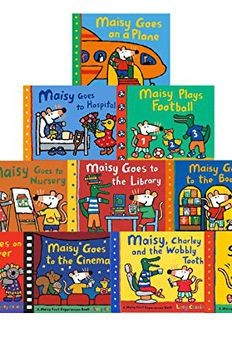 Maisy Mouse Collection 10 Books Set Series 2 Lucy Cousins Early Learner Children book cover