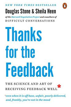 Thanks for the Feedback book cover