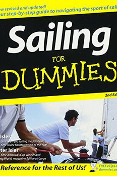 Sailing For Dummies book cover