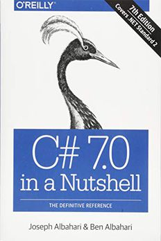 C# 7.0 in a Nutshell book cover