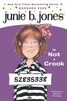 Junie B. Jones Is Not a Crook book cover