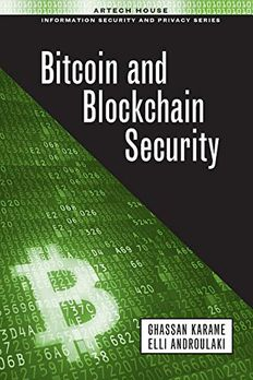 Bitcoin and Blockchain Security book cover