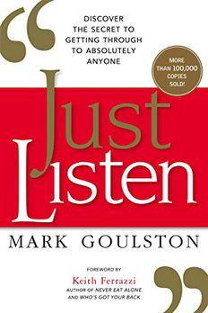 Just Listen book cover