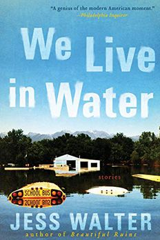 We Live in Water book cover