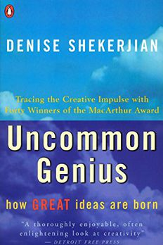 Uncommon Genius book cover