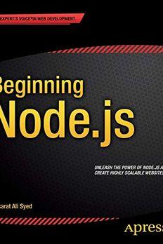 Beginning Node.js book cover