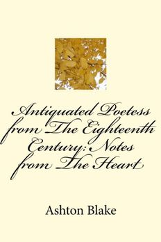 Antiquated Poetess from The Eighteenth Century book cover
