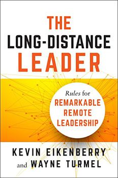 The Long-Distance Leader book cover