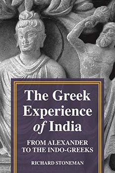 The Greek Experience of India book cover