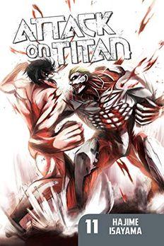 Attack on Titan 11 book cover