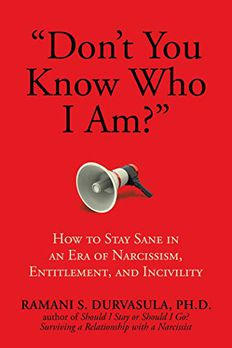 """Don't You Know Who I Am?"" book cover"