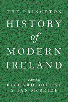 The Princeton History of Modern Ireland book cover