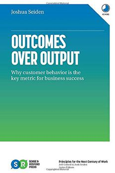 Outcomes Over Output book cover