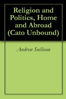 Religion and Politics, Home and Abroad (Cato Unbound) book cover