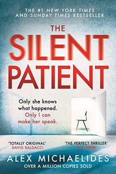Silent Patient book cover