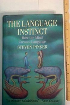 The Language Instinct book cover