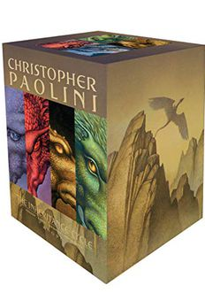 The Inheritance Cycle Series 4 Book Set Collection Eragon, Eldest, Brisngr book cover