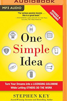 One Simple Idea book cover