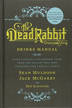 The Dead Rabbit Drinks Manual book cover