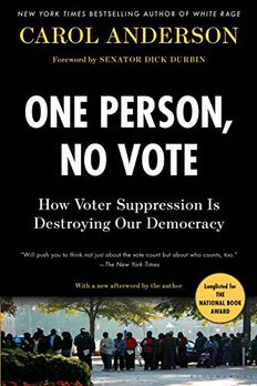 One Person, No Vote book cover