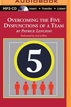 Overcoming the Five Dysfunctions of a Team book cover
