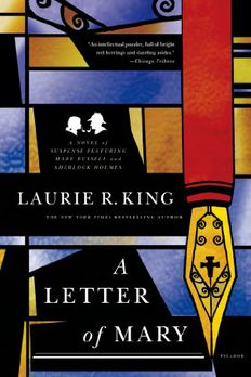A Letter of Mary book cover