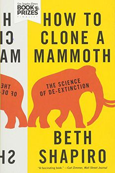 How to Clone a Mammoth book cover