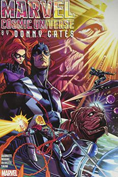 Marvel Cosmic Universe by Donny Cates Omnibus Vol. 1 book cover